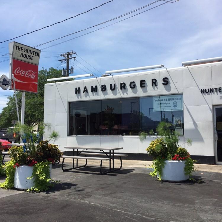 Hunter House Hamburgers Birmingham Michigan