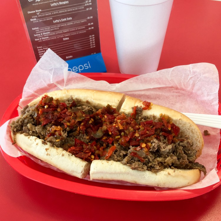 Lefty's Cheesesteak Hoagies Livonia Michigan