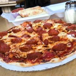 Roman Wheel Pizza Suttons Bay Michigan