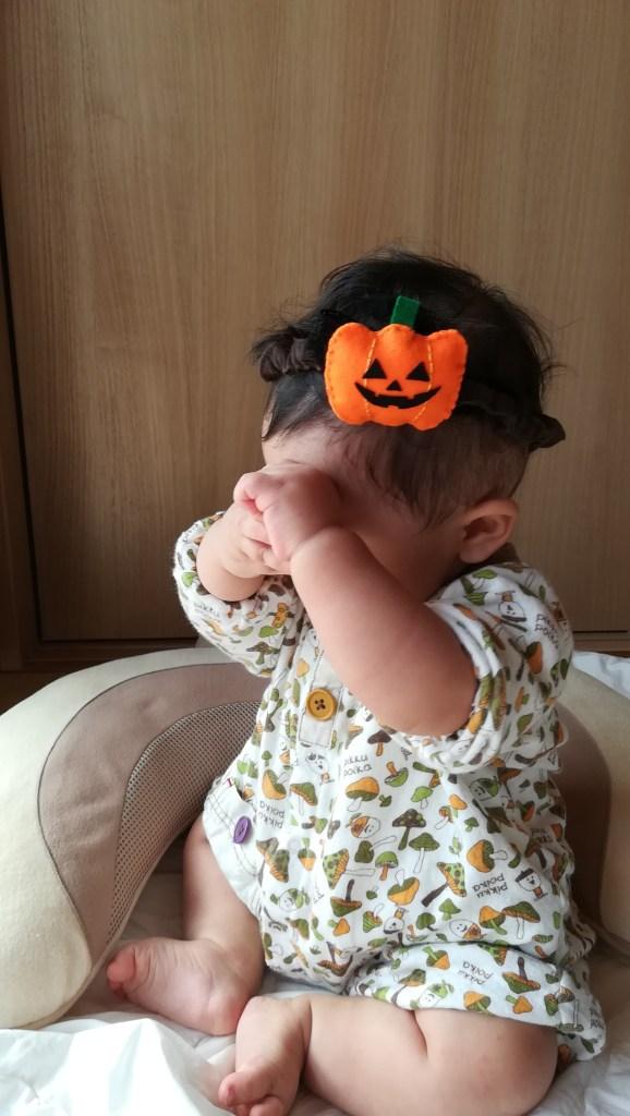 ハロウィンかぼちゃヘアバンド
