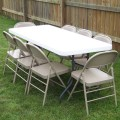 Party rental tables and chairs