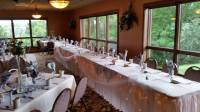 Wedding Reception Head Table Setting - Fox Banquets