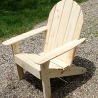 michigan adirondack chair most comfortable outdoor lounge lake bench and footstool added standard