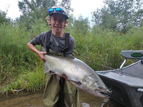 August King Salmon Betsie River
