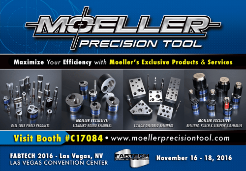 Moeller Precision Tool Print Ad Design by Michigan Business Designs