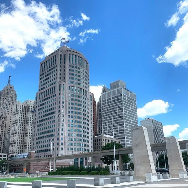Downtown Detroit Michigan