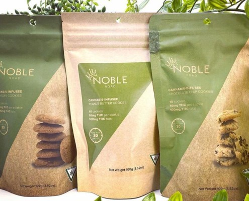 Noble Road Cannabis Cookies