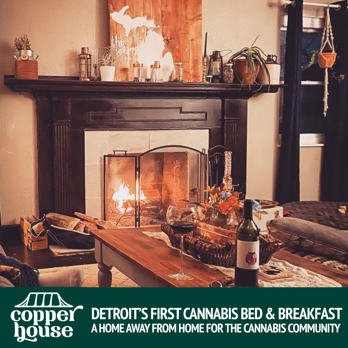 Copper House Bud & Breakfast Detroit