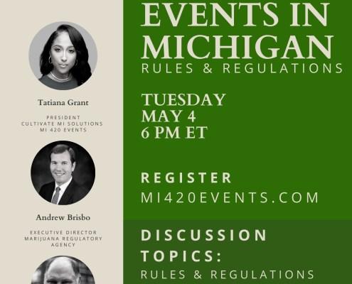 Michigan Cannabis Event Rules & Regulations