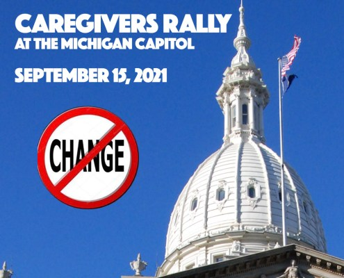 Michigan Caregivers Rally at the Capitol September 15