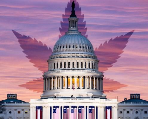 US Capitol Federal Legalization of Marijuana