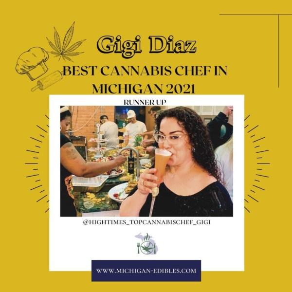 Chef Gigi Best Cannabis Chef in Michigan