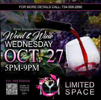Divine Epicurean Weed & Wine - October 27