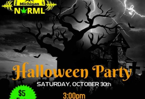 Northeast Michigan NORML Halloween Party