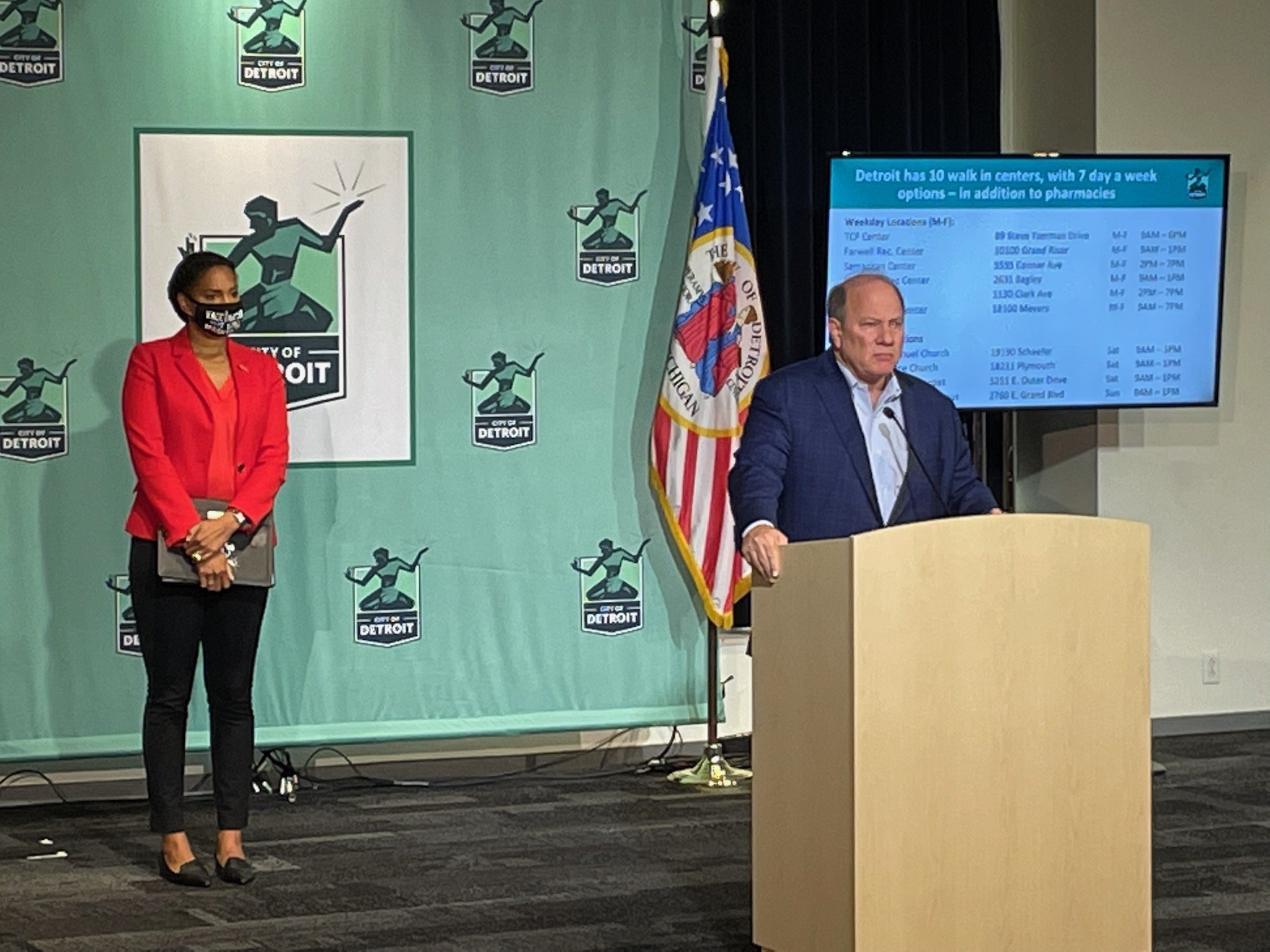 Detroit Begins Third Dose of COVID Vaccine Distribution for Immunocompromised