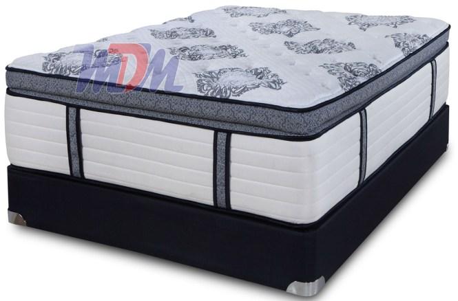 Micro Coil On Pocket Pillow Top Gel Memory Foam Hybrid Best Luxury Mattress