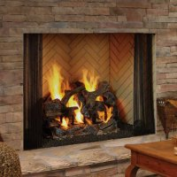 Heatilator Birmingham Wood Burning Fireplace  Michigan