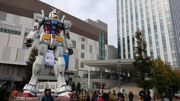 Gundam Front - Travel bucket list