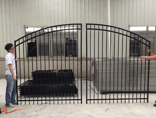 Curved Fence Gates