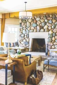 Steve Virostek residence on Walloon Lake photographed for Ken rIchmond