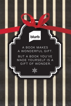Give the Gift of a Blurb Book:  Save 20% through 10/7