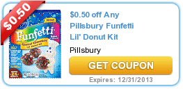 New Coupons:Pi​llsbury + Degree + Nestle 10/29