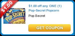 New Coupons: Spirit + Pop-Secret + Advil