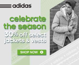 adidas Black Friday Deals (Jackets+Accessories+Warm Ups)
