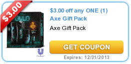 New Coupons (Silk + AXE) 11/22