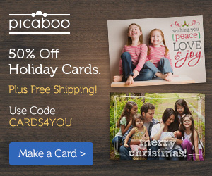 6 HOT Holiday Offers From Picaboo, York, Vistaprint​..