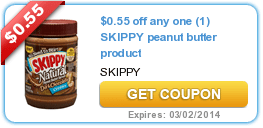New Coupons (Skippy + Dove + Windex + Right Guard) & New/Updated Offers (Fitness Mag + Alaska Travel)