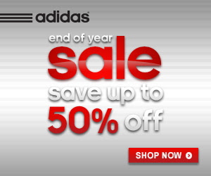 adidas 50% Off Sale Right Now! Ends 1/14/2014