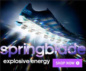 adidas Springblade Razor + 50% off sale items