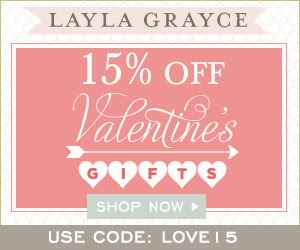 Layla Grayce Offers 15% Off Valentine's Day Gifts & Features Lili Alessandra