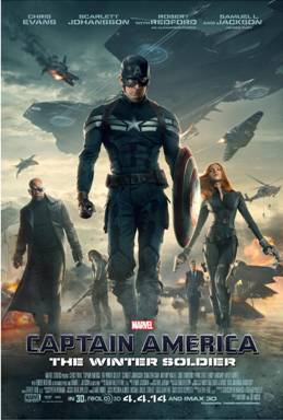 Captain America: The Winter Soldier In Theaters 4/4/2014