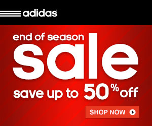 adidas End Of Season Sale 50% Off