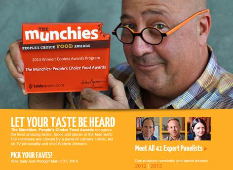 Third Annual The Munchies: People's Choice Food Awards