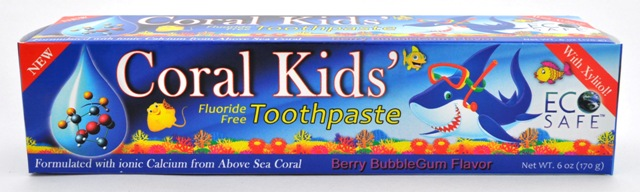 Coral Kids' Toothpaste Offers Tips to Keep Kids Brushing
