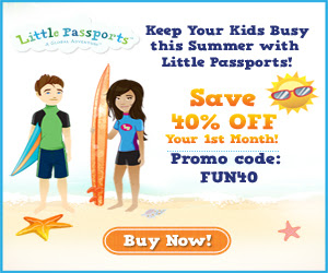 Little Passports Sale: 40% Off Your First Month Ends 5/22