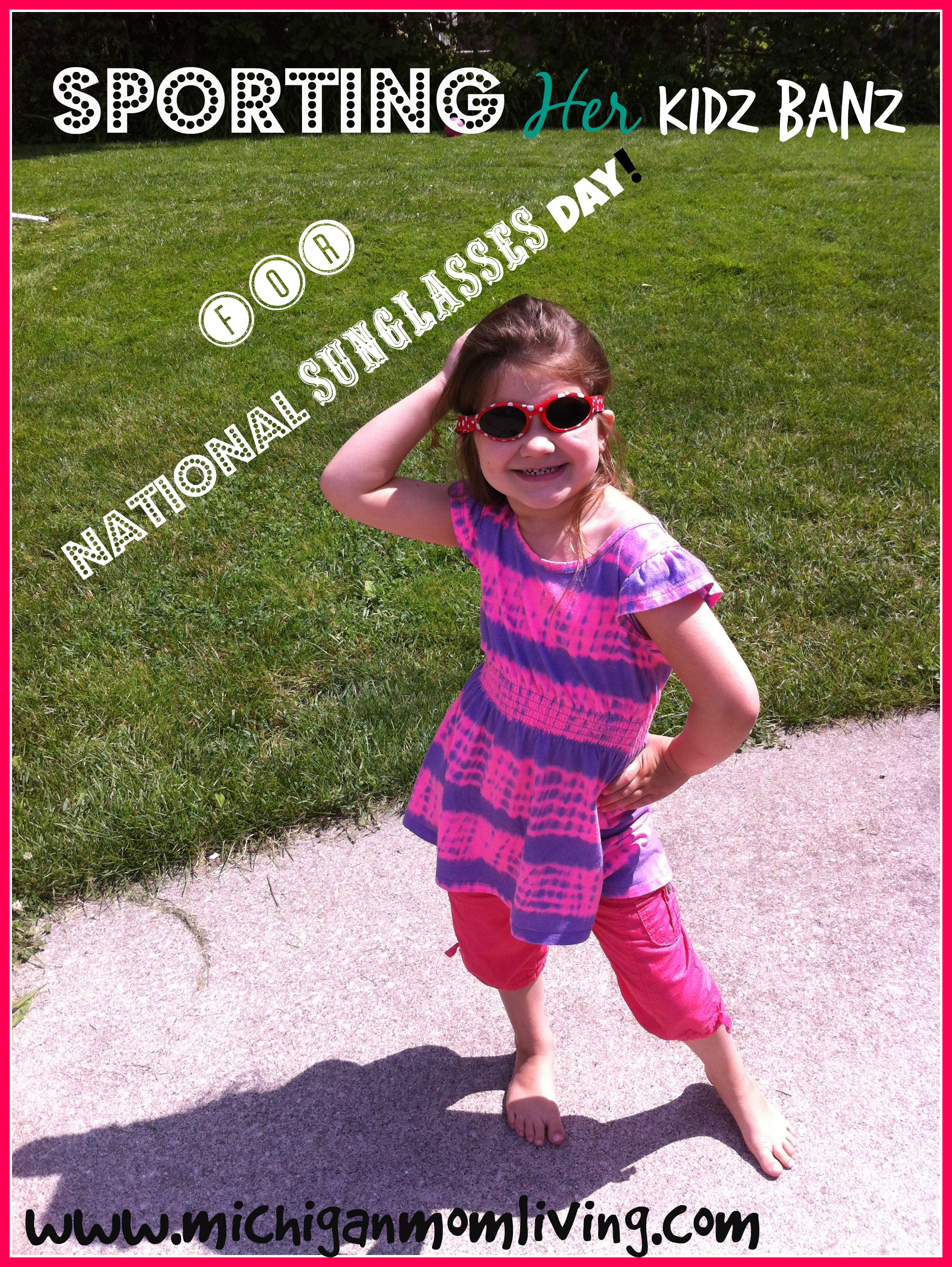 Protect Kids' Eyes with Proper UV Protection #NationalSunglassesDay