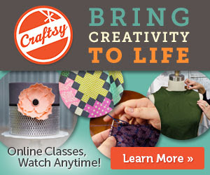 Crafty's BIG Summer Sale: Up to 50% off all Online Classes Ends 6/9