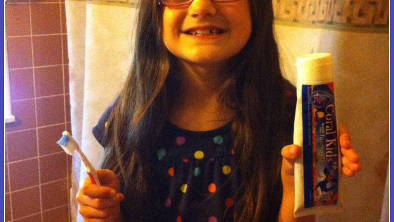 Eco-Safe Coral Kids' Toothpaste {Review}