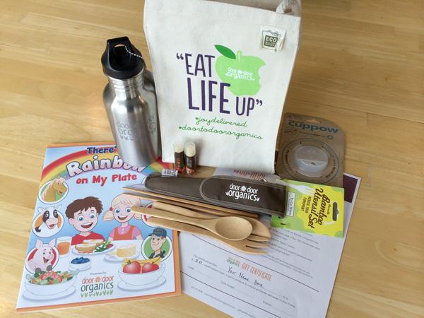 #SnackAttactics Back-To-School Giveaway {Door to Door Organics}