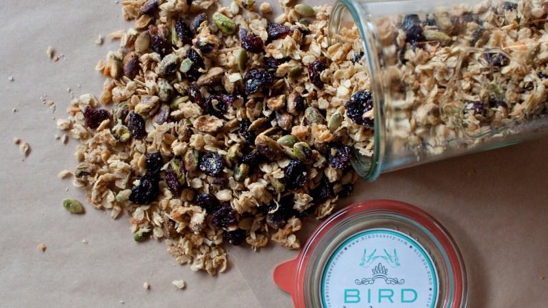 BIRD Bakery and #Granola on the Go
