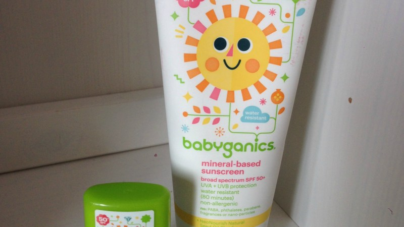 Babyganics Mineral-Based Sunscreen {Review}