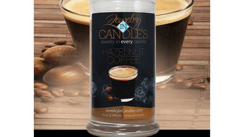 Hazelnut Coffee Scented #Candle for the Fall Season {Sale}