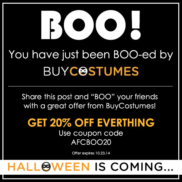 You've Just Been BOO-ed by #BuyCostumes