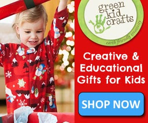 Green Craft Kids 25% Off Sale: NOV. 4 – NOV. 8