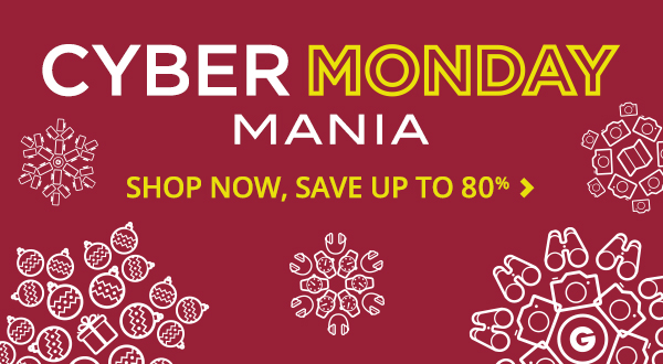 Groupon #CyberMonday Deals up to 80% Off