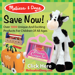 Melissa & Doug Black Friday and Cyber Monday Savings Offers!